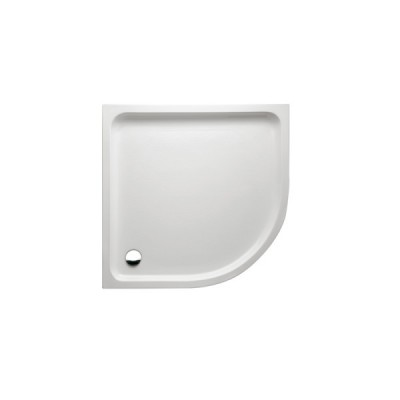 Ceti zuhanytálca/íves/80x80
