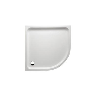 Ceti zuhanytálca/íves/90x90