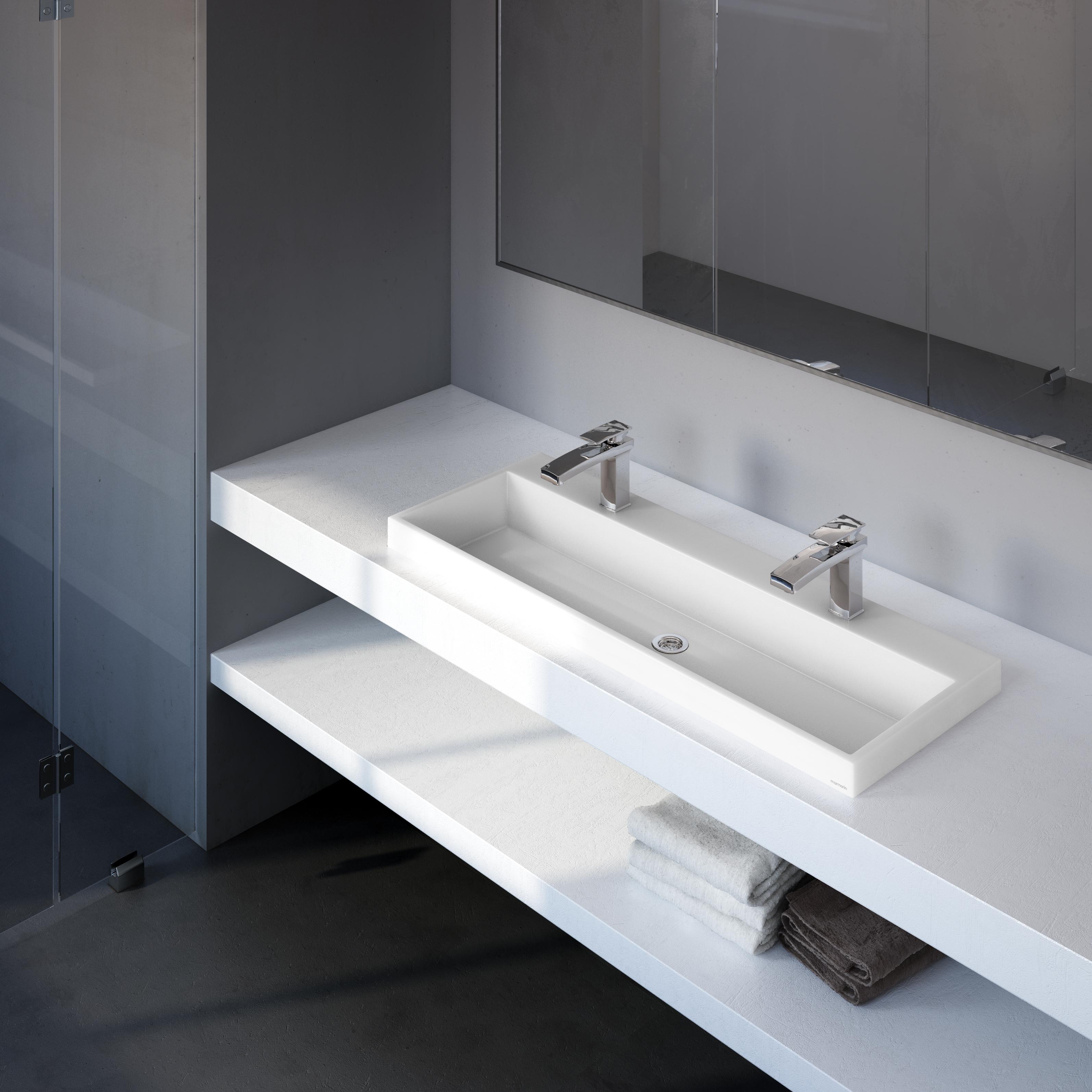 Teo 1200 mosdó/dupla - Marmorin